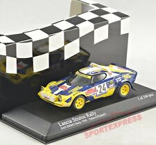 NEW 1/43 Minichamps 430801224 Lancia Stratos Rallye San Remo 1980, #24