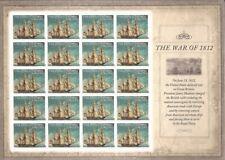 US Stamp - 2012 War of 1812 - USS Constitution - 20 Stamp Sheet #4703