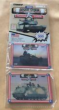 1991 Spectra Star Troops Desert Storm Armor Trading Cards Rack Pack