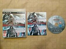 Assassin's Creed IV Black Flag & Rogue Doble Pack ~ PAL PlayStation 3 ~ como nuevo ~