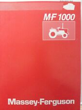 Massey Ferguson Mf 1010 1020 1030 1045 1035 Tractor Product Information Manual