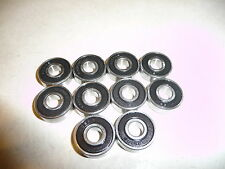Sealed Bearings qty 10,  608RS 8 x 22 x 7mm ABEC high quality. USA FAST SHIPPING