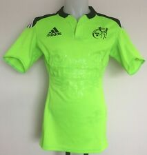 """MUNSTER RUGBY 2014-15 S/S GREEN AWAY JERSEY BY ADIDAS SIZE MEN'S 44/46 """" CHEST"""