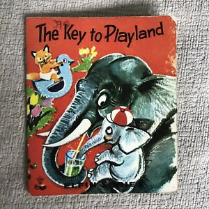 1960's The Key To Playland - Gladys Booth (Irene Diederich Illust) Litor