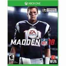 XBOX ONE Madden NFL 18 Game BRAND NEW SEALED