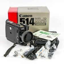 Vintage Canon 514 XL-S Super 8 Movie Camera