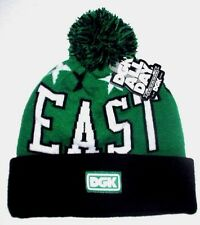 MENS DGK ALL DAY EAST COAST BEANIE HAT ONE SIZE