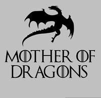 Mother Of Dragons Game Of Thrones Queen Khaleesi Daenerys Targaryen T-Shirt Tee