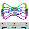 Fitness Equipment Yoga Elastic Resistance Bands Tube Workout Exercise Band Gym
