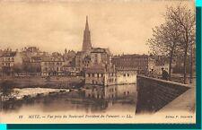METZ - vista decisione della Boulevard Président Poincaré