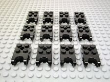 LEGO / 12 New & EUC 2x2 Brick w/ ball joint socket - # 92013 black