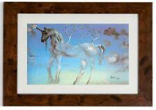 "Salvador Dali Framed Print ""The Happy Unicorn"""