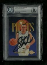 Jason Kidd 1994-95 Skybox SKY PILOTS Auto Rookie RC! BAS Authentic! Mavs! Nets!