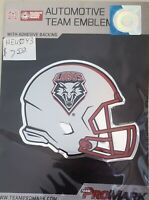 NCAA: New Mexico Lobos Helmet Aluminum Team Colors Auto Emblem