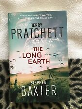 Terry Pratchett -The Long Earth  book - Signed by Stephen Baxter