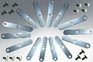 Lambretta Replacement Seat Cover Clips and Rivets 000904