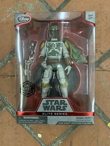 Disney Store Exclusive Star Wars Elite Series Die-Cast figure BOBA FETT (W/CAPE)