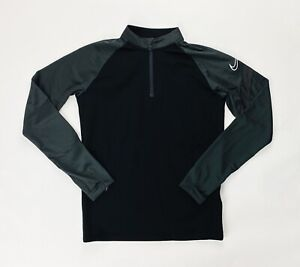 Nike Dry Academy Pro Drill 1/4 Top Jacket Youth Boy's M BV6942 Dri-FIT Black