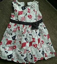 pretty matalan party casual formal summer dress girl 12-18 months