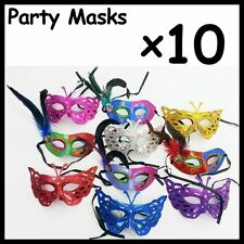 WHOLESALE LOT of 10 Party Masks Venetian Ball Party Costume Opera ***10 MASKS***