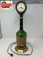 Rare - Vintage Hennessy Cognac VSOP Reserve  Brandy Bottle Clock Reads All 5s