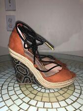 Charles By Charles David Women's Boston Platform Sandals Sz 6.5, Brn/Blk