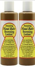 2 Maui Babe Browning Lotion 8oz ( New, Best Seller)