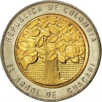 Colombia 💠 500 Pesos Coin, Bimetallic, Holy Tree of Guacarí, 2006
