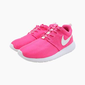 Nike Roshe One GS Womens Juniors Pink Trainers UK 4.5 Sneakers 599729 611 Kids