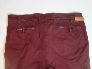 BRAX Feel Good Chino Stretch Pantalon Hommes Bordeaux 56 Ou XL Modèle Everest