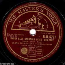 Glenn Miller 78 RPM Records