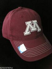 UNIVERSITY OF MINNESOTA~U OF M GOPHERS~TWILL BASEBALL HAT~CAP~NWT