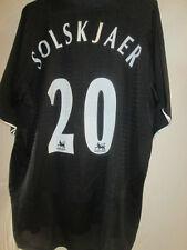 Manchester United 2002-2003 Solskjaer Away Football Shirt Large 15451
