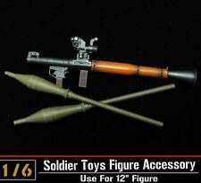 1:6 ZY Toys Soldiers Model Scale Antitank Bazooka RPG-7 WWC Weapon New in box