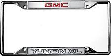 New GMC Yukon XL License Plate Frame
