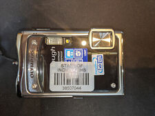 Olympus Stylus Tough 8000 12.0MP Digital Camera -Black Silver look at all pics