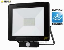 NEW MERCATOR DINO 50W LED DIY FLOODLIGHT WITH PIR MOTION SECURITY SENSOR - BLACK