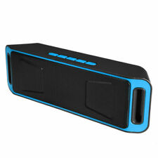 Rechargeable Wireless Bluetooth Speaker Portable with FM Radio,TF Card, USB, AUX