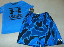 ~NWT Boys UNDER ARMOUR UPF 50+ Swim Outfit! Size 5 Nice FS:)~