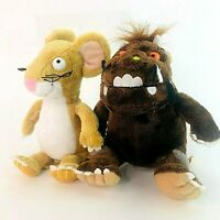 The Gruffalo Small Soft Plush Toys by Aurora Gruffalo and Mouse Bundle