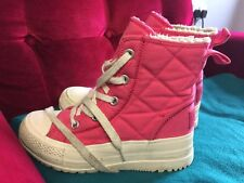 Converse All Star High Tops Phenomenal Canvas Shoes Winter Soft Nap Inside