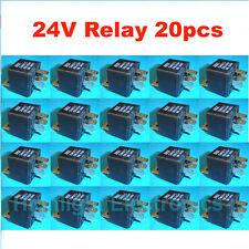 Auto relay 24V 30A DC SPDT car alarm audio 5 Pins 20pcs