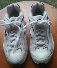 AVIA WOMENS WHITE FITNESS/SPORT SNEAKERS SIZE 6 GOOD CONDITION
