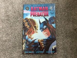 Batman Versus Predator The Collected Edition (1993) Paperback 4th Print - VGC