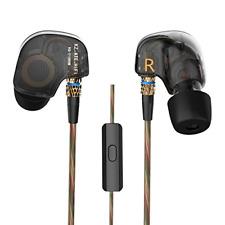Kz ATE Hi-fi IEM Sports Headphones With Copper Driver Ear Hook and Foam EARTIPS