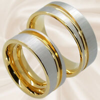 Eheringe Hochzeitsringe Verlobungsringe Partnerringe Trauringe 8mm mit Gravur