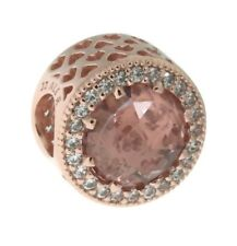 Authentic Radiant Hearts Charm, PANDORA Rose, Pink Crystal & Clear CZ781725NBP