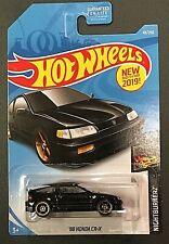 1988 88 HONDA CRX CR X BLACK 49/250 2019 HW HOT WHEELS diecast car