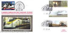 2004 Trains - Benham Channel Tunnel Official (Pr) - Railway Stamp 2