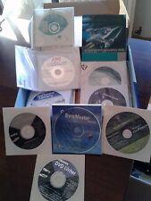 Serie di CD Nero, Windows XP Home e altri da dismissione ufficio